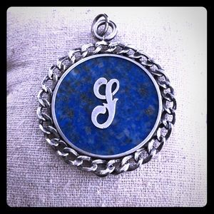 Jewelry - Sterling silver G initial pendant